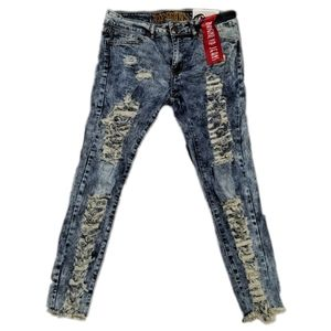 VIP distressed jeans
